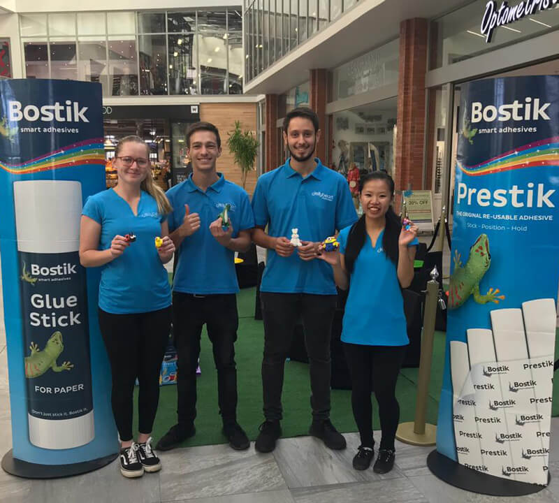 Featured Img Bostik At The Sanctuary Shopping Centre 2019 Portfolio Post Jellybean Events